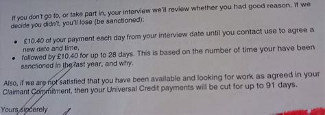 Universal Credit Notification Letter Mental Health Sanctions And A Whole Bunch Of Nothing More Stories From The Jobcentre Kate