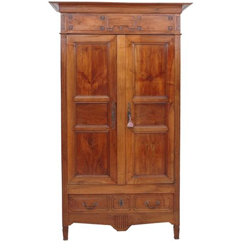 armoire in french french directoire armoire in walnut bonnin ashley