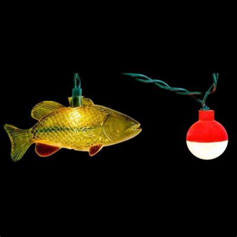 Fish String - 10 light string of fish novelty light set 910 the home depot