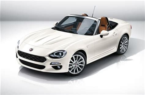 fiat reveals new 124 spider sports car motoring news