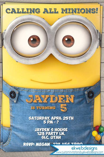 invite christmas minion minion birthday invitation 2015 minion invitations