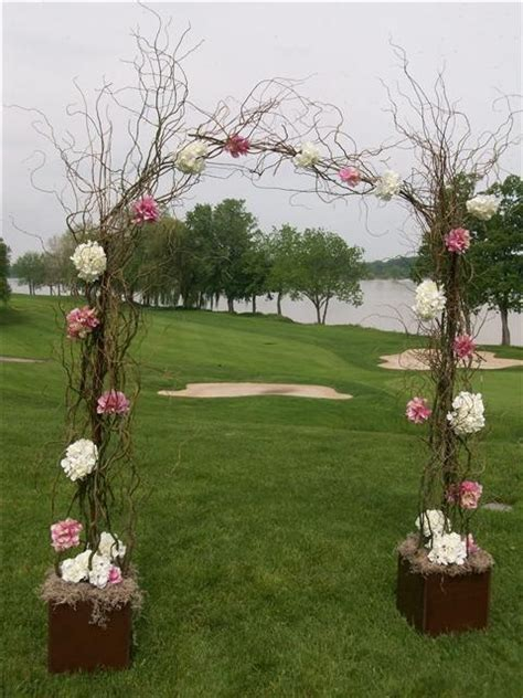 Wedding Arch Made Of Sticks by Arch Made Of Branches Wedding Arches And Canopies