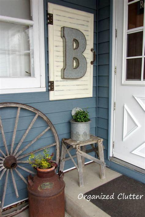 hometalk outdoor decor cabinet door frame upcycle