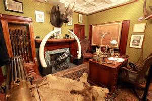 quite the gun room office home