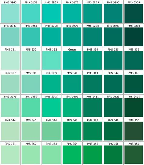 green paint swatches 25 best ideas about pantone green on pinterest pantone