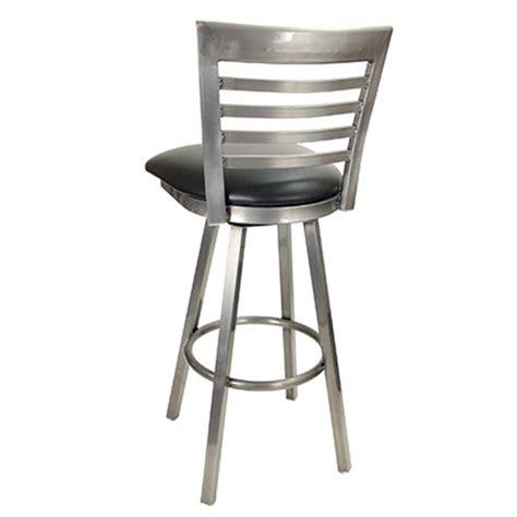 east coast bar stool gladiator rustic brown ladder back gladiator clear coat full ladder back swivel bar stool w