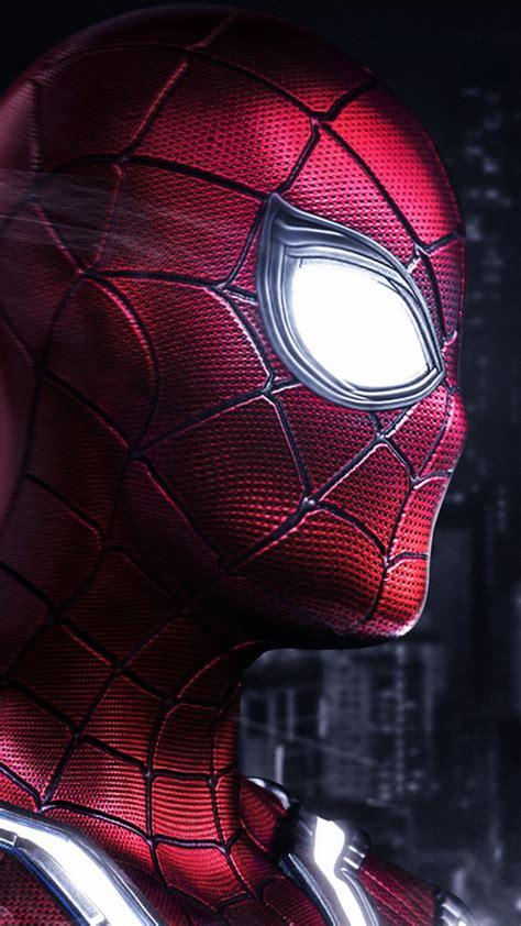 wallpaper marvels spider man iron spider artwork