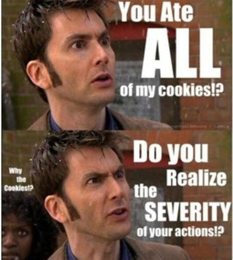David Tennant Cookie Memes the david tennant cookie meme doctor who amino