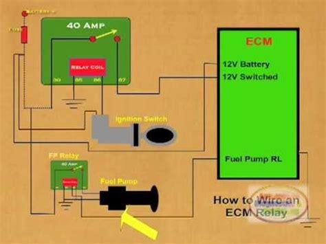 wire  ecm relay youtube