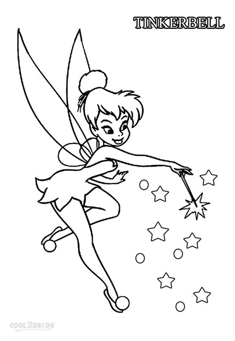 tinkerbell fairy coloring pages coloring pages