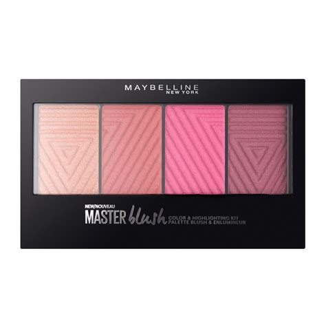 maybelline master blush color and highlighting palette