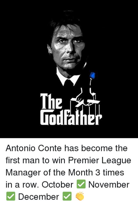 epl manager of the month 25 best memes about antonio conte antonio conte memes