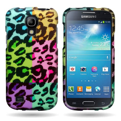 multicolor custom design cover for samsung galaxy s4 mini