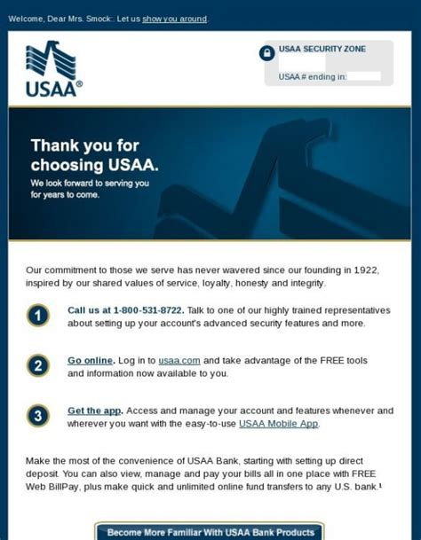 usaa bank login acquisition onboarding and cross sell marketing showcase