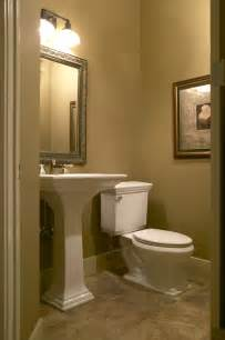 Country walkout traditional powder room calgary by maillot