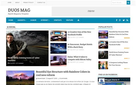 download layout blog gratis download free duos mag responsive blogger template
