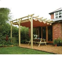 retractable pergola outdoor awning yard works