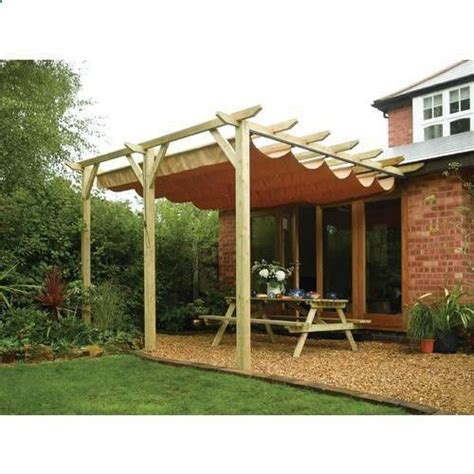 Pergola With Retractable Awning by Retractable Pergola Outdoor Awning Yard Works