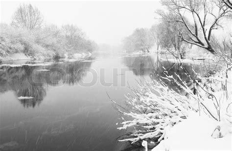 winter stock photo colourbox winter river stock photo colourbox
