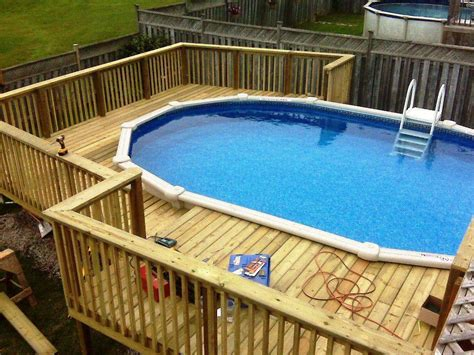 above ground pools deck prices jburgh homes best above