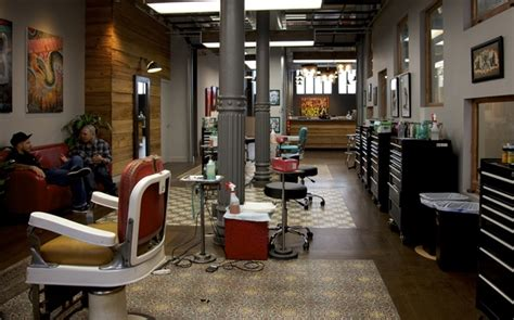 tattoo shop gallery shop interior design ideas