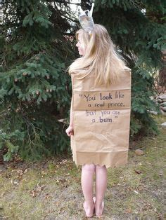 Paper Bag Princess Costume Pattern | 1000 images about the paper bag princess dress like a