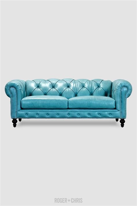 Blue Leather Sofa Bed 25 Best Ideas About Blue Leather On Pinterest Blue Leather Sofa Brown Upstairs