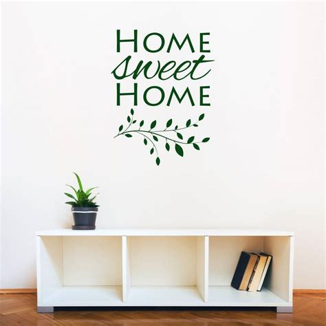 home sweet home wall stickers home sweet home wall sticker peenmedia