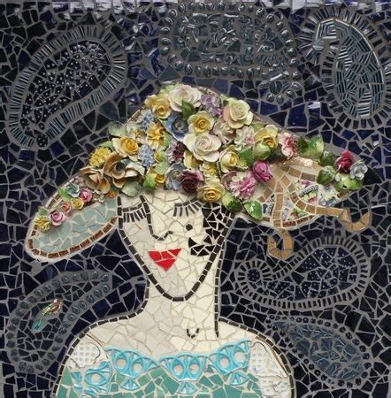 Norene Design by Quot Pearle Quot Original Mosaic By Norene Interesting