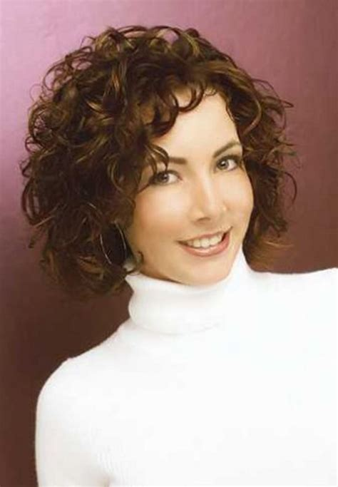 short haircuts for fine curly hair heavyset women short hairstyles for fine hair over 40 women hairjos