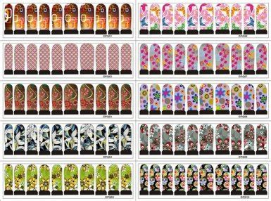 printable nail art nail stickers nails