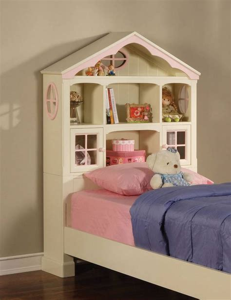 Dollhouse Headboard by Powell Doll House Size Storage Bed 292 039 040 041 Homelement