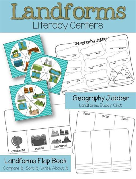 Kaos Activities Graphic 18 Oceanseven literacy centers social studies and literacy on