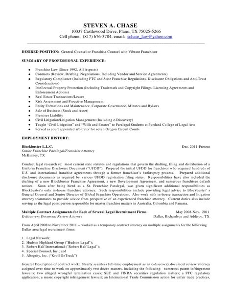 Environmental Lawyer Sle Resume by Attorney Resume Sles Attorney Resume Sles 28 Sle Resume For Lawyer Junior Attorney Resume