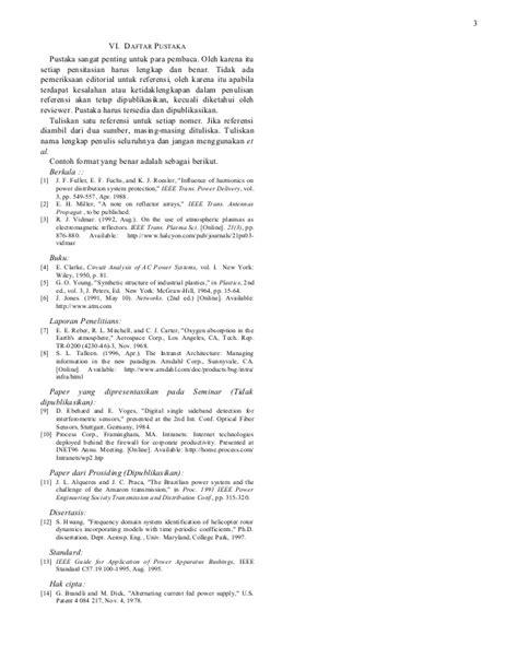 format makalah seminar template makalah seminar tugas akhir