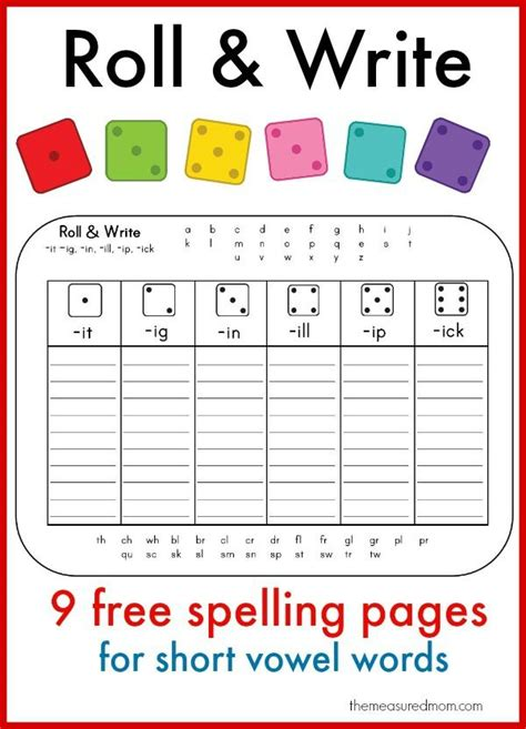 printable phonics games year 1 learn to spell short vowel words with these fun printables