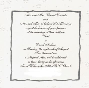 View Sle Wedding Invitations by Marriage Invitation Mail To Colleagues Sle Style By