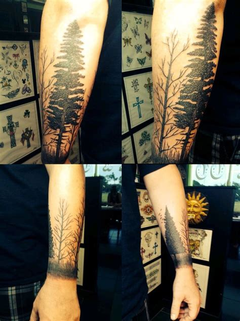 quarter sleeve forest tattoo 88 best tattoo images on pinterest forests tattoo ideas