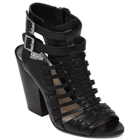 gladiator shoes vince camuto medow gladiator sandals in black lyst