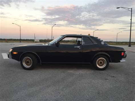 toyota coupes 2 1979 toyota celica gt rusty but trusty 1974 toyota celica gt 2 liter 5 speed no rust anywhere