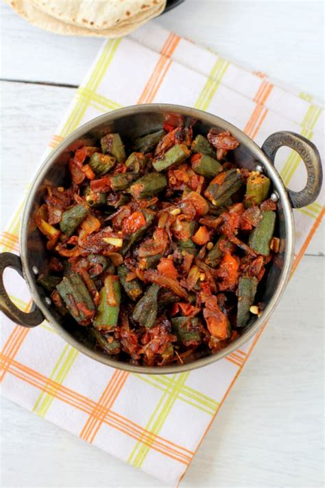 Good Okra And Tomatoes #4: Bhindi-masala.jpg