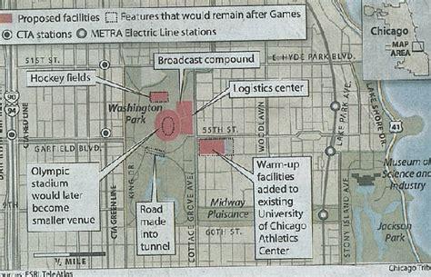 jackson park chicago map washington park and advisory council chicago