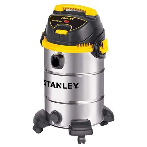 stanley vacuum stanley 8 gal stainless steel vacuum sl18017