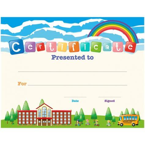 templates for children s certificates children certificate design vector free download