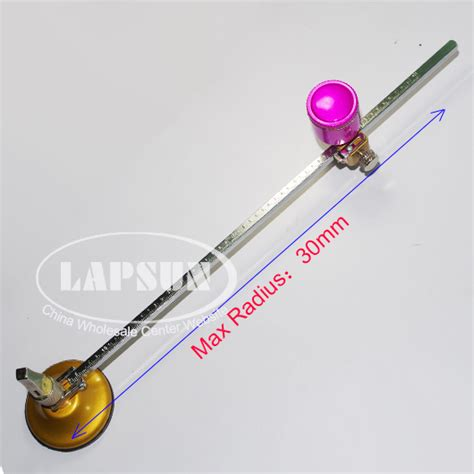 electric kerosene style ls 30cm radius 60cm dia compass tungsten wheel blade glass