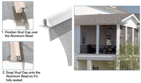 Patio Screen Frame screeneze patio screen patio screening system frame cap