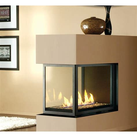 Multi Sided Gas Fireplace montigo h series peninsula multi sided