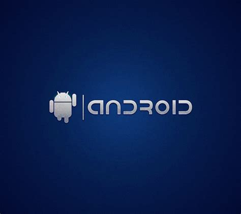 hd wallpaper for samsung android phone android logo blue wallpaper sc smartphone