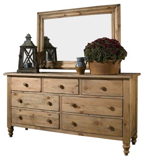 Solid Pine Dresser by Homecoming Solid Wood Dresser Vintage Pine