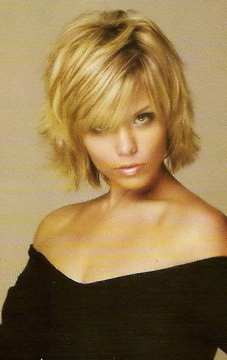 flipped up hair cut blonde short hairstyles flip out and short hairstyles for